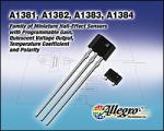 User-Programmable Hall Effect Sensors from Allegro
