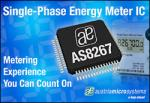 Energy Meter IC from Austriamicrosystems