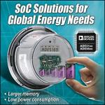 Energy Metering SoCs from Analog Devices