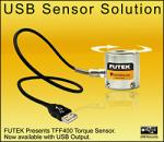 Torque Sensor with USB Output from FUTEK