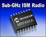 Sub-GHz Transceiver Radio from Microchip