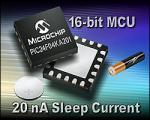 16-bit MCU from Microchip Technology