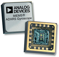 Figure 2. Analog Devices' ADXRS610 gyroscope