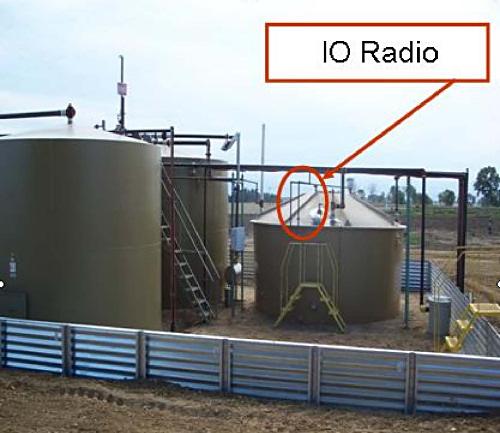 Figure 3. Multiple tanks on one radio