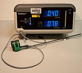 Figure 3. The NPL CaviMeter and CaviSensor