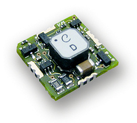 Figure 1. The ECT 310 DC/DC converter works on as little as 20 mV, corresponding to a 2°K temperature difference