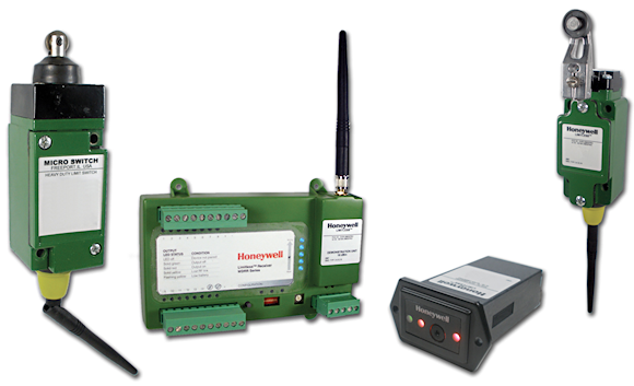 Figure 2. Honeywell's  Limitless wireless solutions use a variety of antennas, chosen based on the application performance needs, to ensure the communication is within range and to help alleviate interference