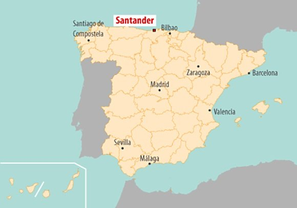 Figure 1. Smart Santander location