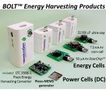 Vibration Energy Harvesting BOLT™ Power Cells