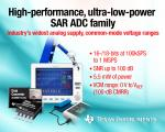 ADC Family Births 12 High-Res, Ultra-Low Power Members