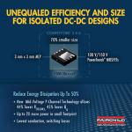 Compact Mid-Voltage MOSFETs Optimize Power Use
