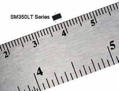 Fig. 2: Magnetoresistive Sensor ICs, Nanopower Series are available in a SOT-23 package.