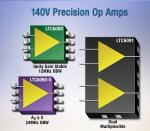 Op Amps Cruise On 140V