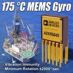 High-Temperature MEMS Gyroscope Boost Productivity
