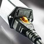 Power Entry Modules Provide V-Lock Cord Retention