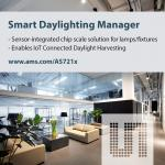 Smart Lighting Manager Enables IoT-Connected Daylight Harvesting