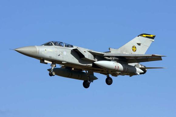 Fig.2: An upgraded RAF Tornado