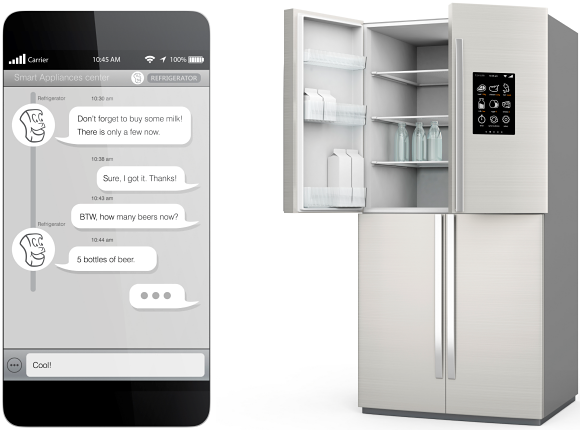 Residential sensors found in home appliances include the thermal and other devices in refrigerators, for example.