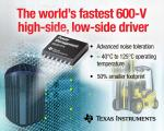 600-V Gate Driver Breaks Industry Speed Limits