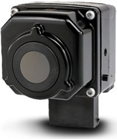 Fig. 7: FIR automotive thermal imagers have lower resolutions than their visible light counterparts.