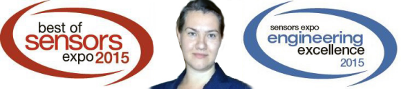 Dr. Elina Vitol was the recipient of the Sensors Expo 2015 Rising Star Engineer Award.