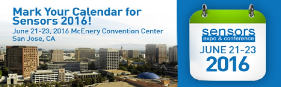 Mark Your Calendar for Sensors 2016