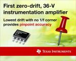 36V Instrument Amp Exhibits Zero Drift