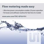 Single-Chip And Software Provide Measurement Solution For Cold-Water Meters