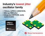 Oscillators Boast Industry's Lowest Jitter