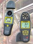 Mini Handheld Anemometers Include Wind-Chill Function And Psychrometer