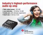 Audio OP Amp Raises Performance Bars