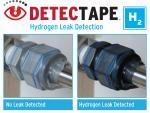 Tape Identifies Hydrogen Leaks
