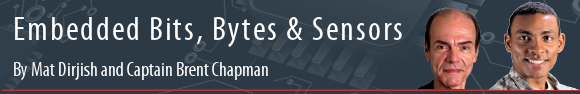 Embedded Bits, Bytes, & Sensors by Mat Dirjish and Captain Brent Chapman