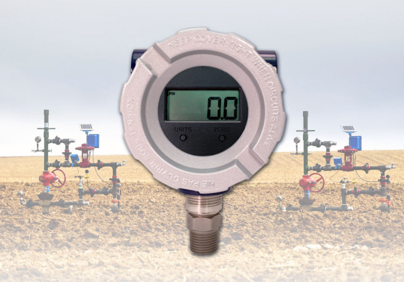Fig. 1: A pressure transmitter designed to operate at less than 2 mA while operating at a 5V supply and ambient temperature changes from -40°C to 85°C (-40°F to 185°F).