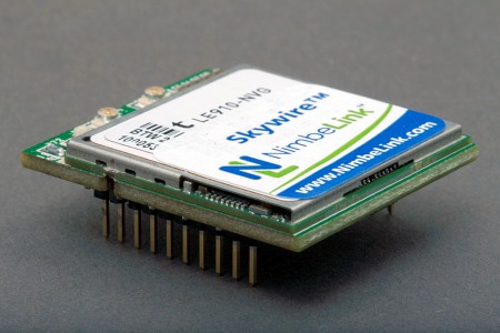 A mini, pre-certifies cellular modem can plug right into the circuit, saving time, space, and assorted costs.