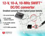 DC/DC Converter Boasts Industry's Highest Power Density