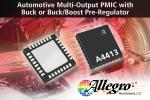 Automotive PMIC With Buck Or Buck/Boost Pre-Regulator Delivers Multiple Outputs