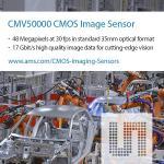 48-Mpixel CMOS Image Sensor Supports 8k Resolution At 30 fps