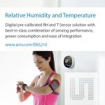 Humidity/Temperature Sensor Squeezes Into Space-/Power-Constrained Designs