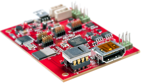 Texas Instruments' IoT readout board for the NO2 sensor