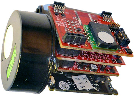 Sensor module with third generation commercial gas sensors