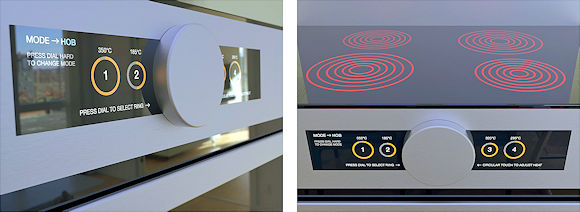 Force touch sensors can improve and simplify oven controls, giving a safe and intuitive user experience.