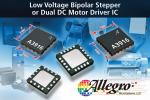 Bipolar Stepper or Dual DC-Motor Driver Requires Little Support