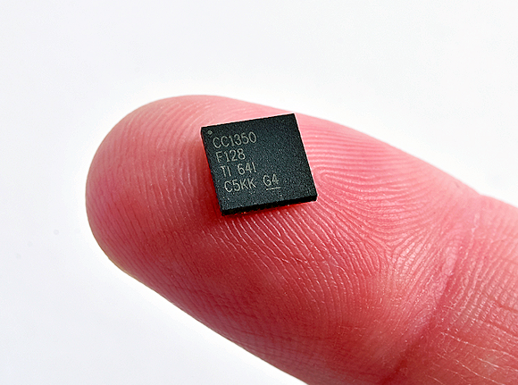 Fig. 6: Tiny SimpleLink CC1350 wireless MCU with dual-band connectivity.