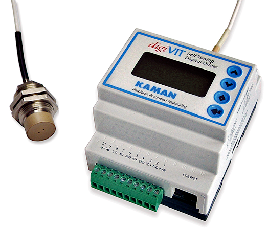 Digital signal processors like digiVIT are easy to set up and reconfigure and can be used with a wide range of sensors.