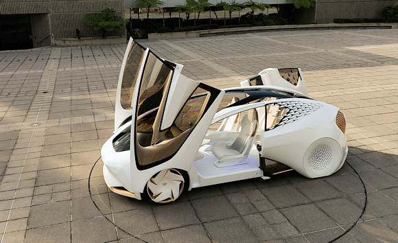 Toyota's take on the car of the future: The Concept-i.