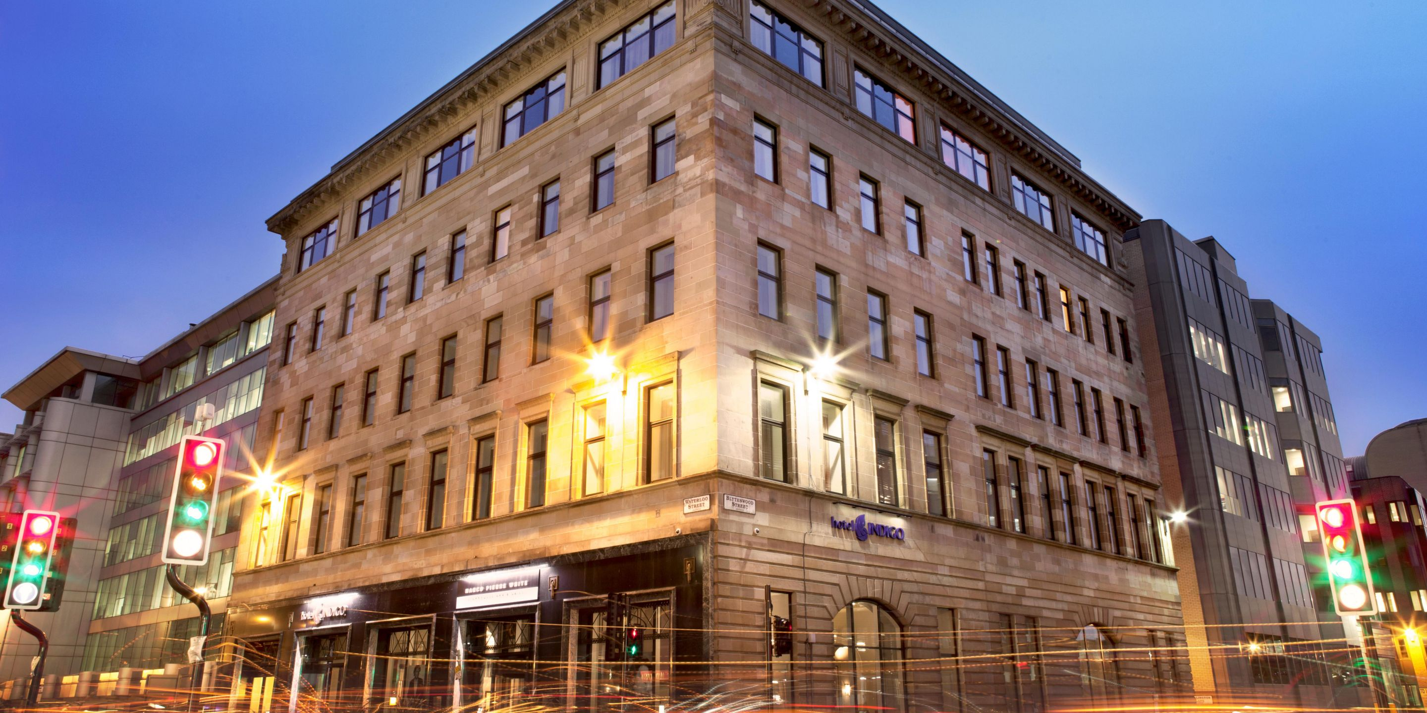 Hotel indigo glasgow is up for sale in ihg franchise deal for Design hotel glasgow
