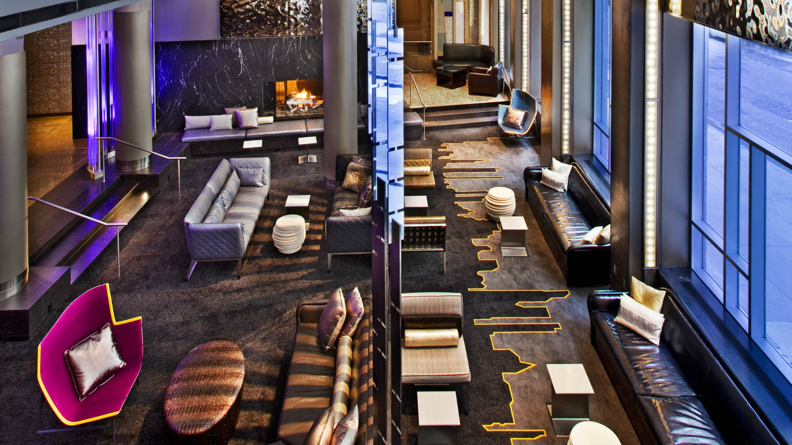 the living room at the w hotel this new york city hotel could change for 209m 27657