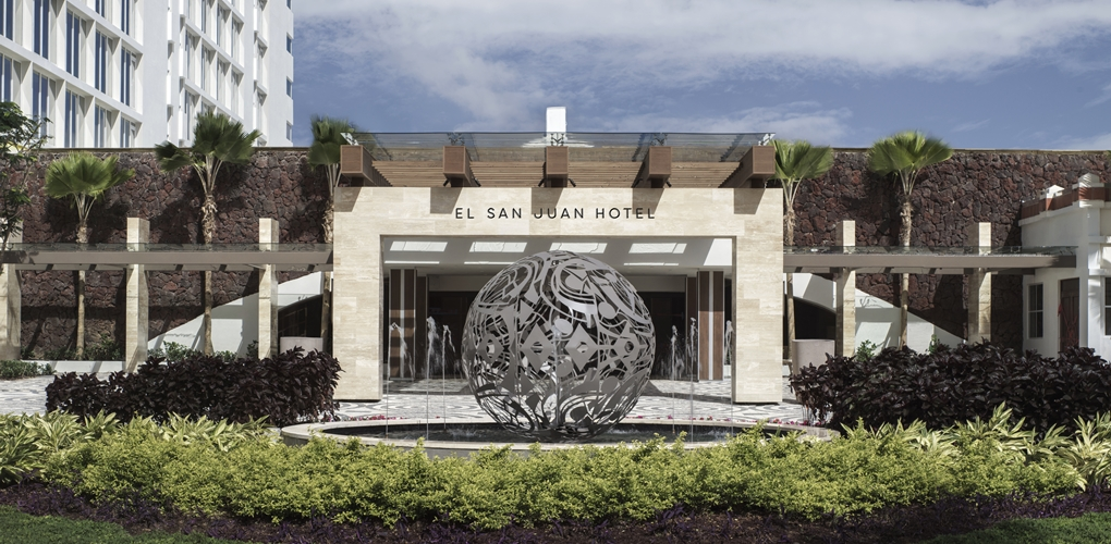 Rebuilding after hurricane maria el san juan hotel for Design hotel jena