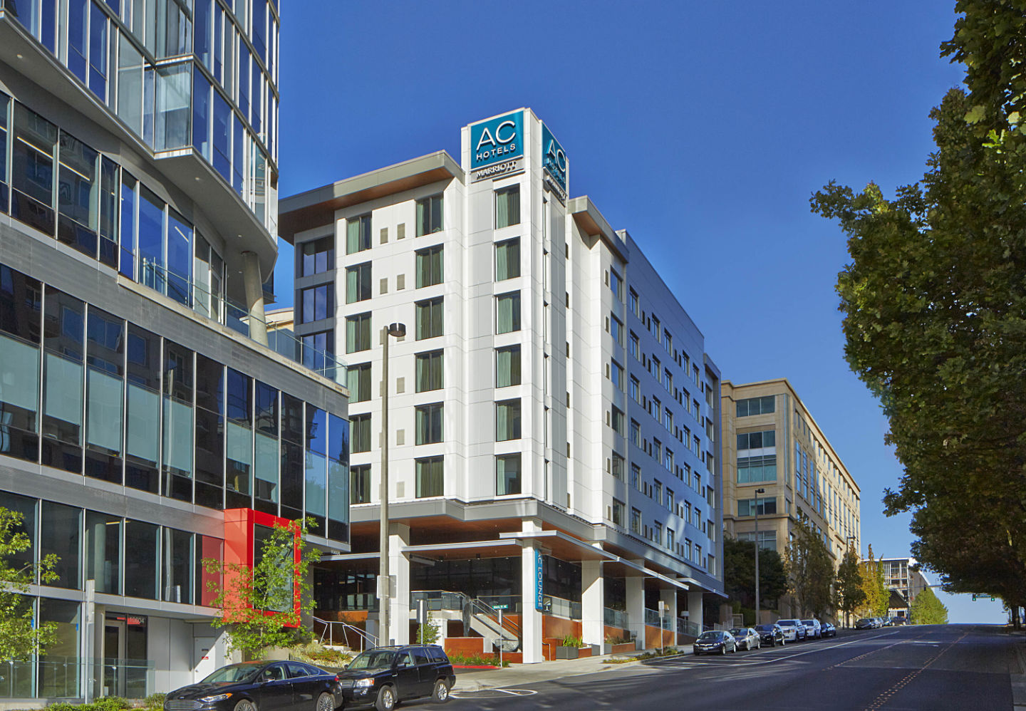 South korean firm acquires ac hotel by marriott seattle for Design hotel jena